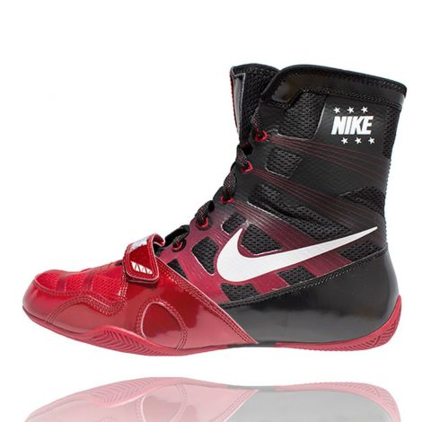 NIKE HYPERKO BOXING SHOES - GYM RED/BLACK/WHITE