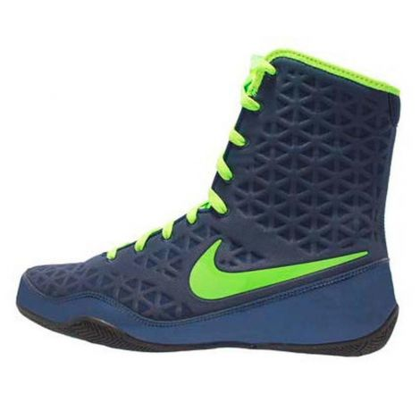 NIKE KO BOXING SHOES - NAVY/GREEN