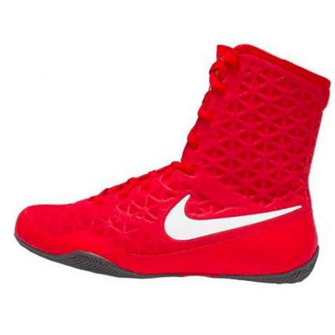 NIKE KO BOXING SHOES - RED/WHITE