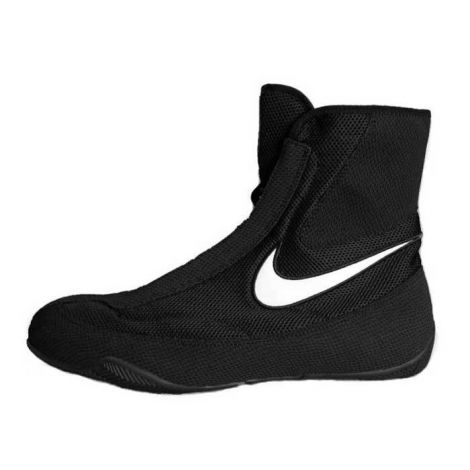NIKE MACHOMAI MID BOXING SHOES - BLACK/WHITE