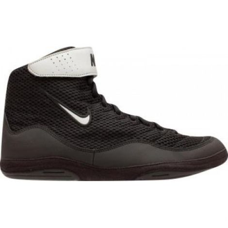 Nike Inflict 3 Wrestling Shoes - Black/Metallic Silver