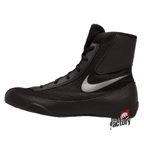 NIKE MACHOMAI 2 MID BOXING SHOES - BLACK/GREY