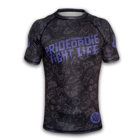 Pride Or Die Fight Life Rashguard
