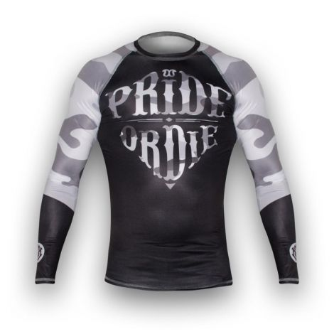 Pride Or Die Reckless Rashguard - Urban Camo