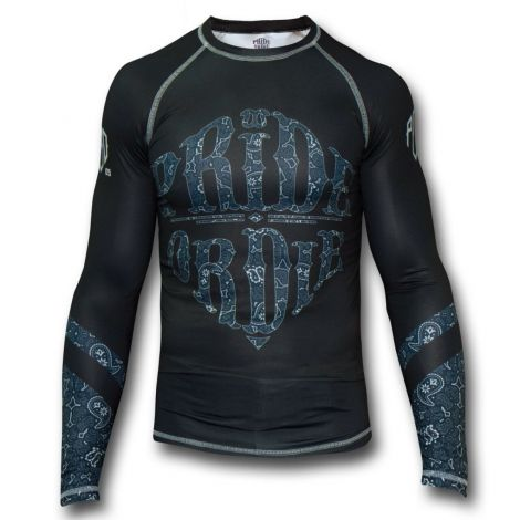 PRIDE OR DIE RECKLESS PAISLEY RASHGUARD