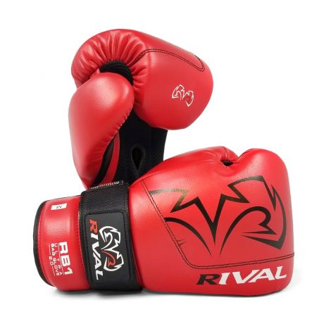 RIVAL RB1 ULTRA BAG GLOVES 2.0-Red-M