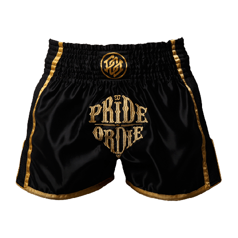 PRIDE OR DIE RECKLESS MUAY THAI SHORTS