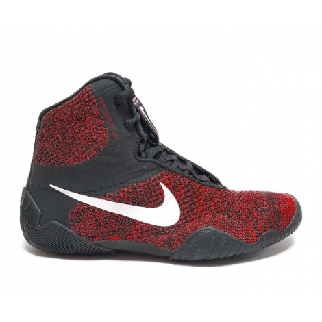 Nike Tawa Wrestling Shoes - Black/Red