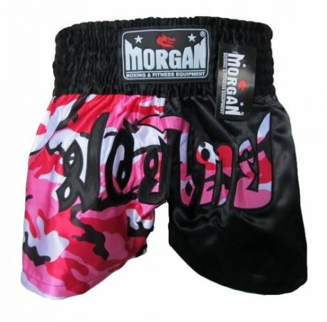MORGAN 50/50 DIABLA MUAY THAI SHORTS