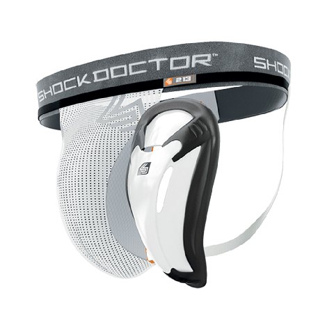 SHOCK DOCTOR CORE SUPPORTER WITH BIO-FLEX CUP-L