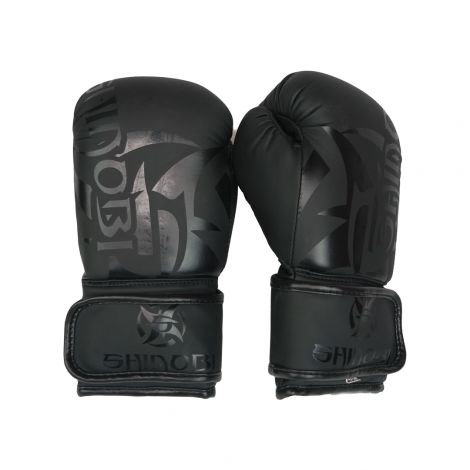 SHINOBI SEKIRO KIDS BOXING GLOVES-Black/Black-4oz