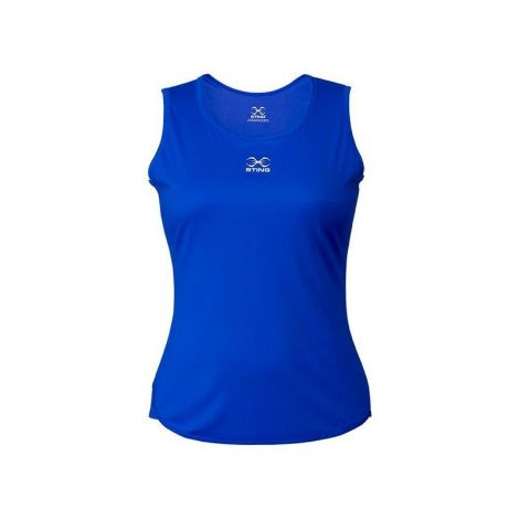STING METTLE COMPETITION WOMEN'S SINGLET-Blue-XXL