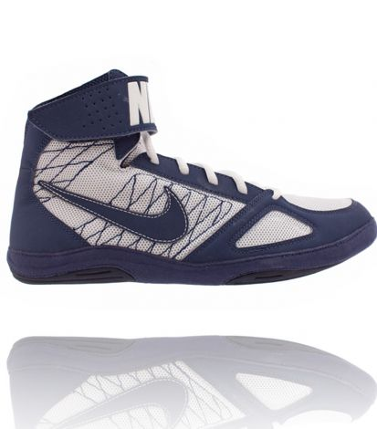 NIKE TAKEDOWN WRESTLING SHOES - NAVY/WHITE