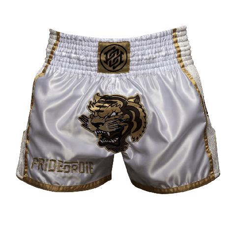 PRIDE OR DIE UNLEASHED MUAY THAI SHORTS