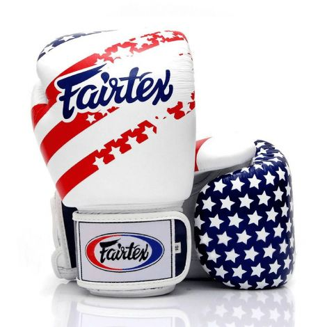 Fairtex USA Flag Boxing Gloves (BGV1)