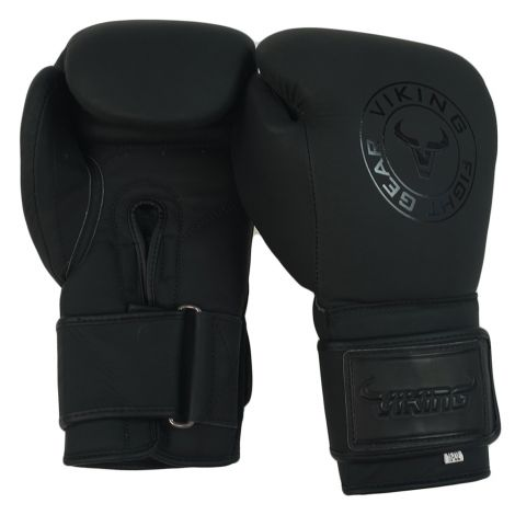 Viking Vader Matte Leather Boxing Gloves
