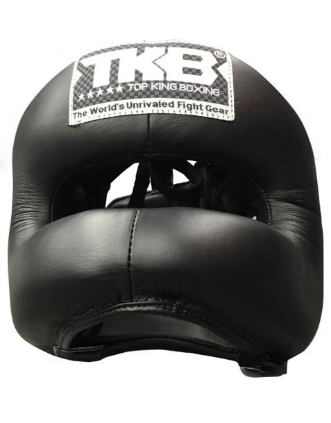 Top King Head Gear Pro Training Nose bar with Open Chin