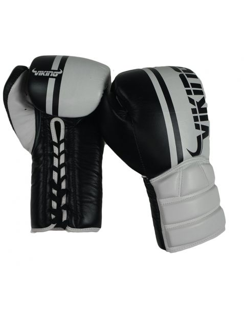 Viking Ivar pro Lace up Leather Boxing Gloves