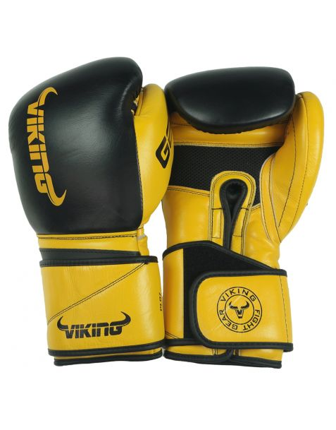 Viking Power Pro Leather Boxing Gloves